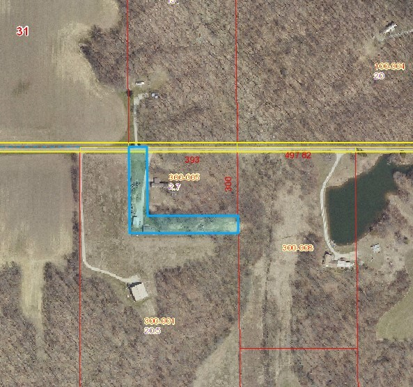 Clark County foreclosures – 23886 E 2000th Rd, Dennison, IL 62423