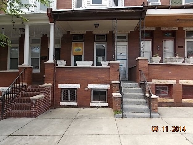 Baltimore foreclosures – 1652 Appleton St, Baltimore, MD 21217