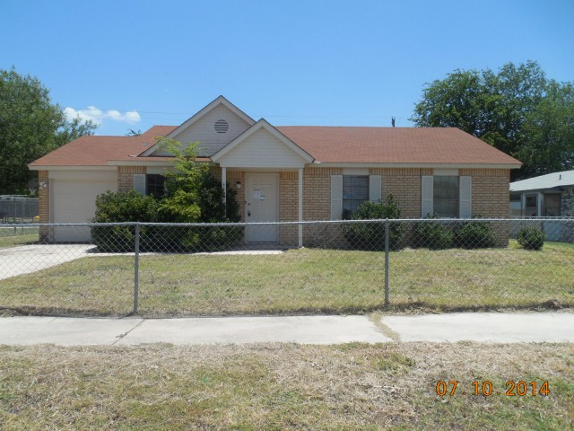 Bell County foreclosures – 4403 Brian Dr, Killeen, TX 76542