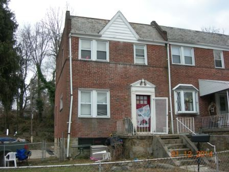 Baltimore foreclosures – 4321 Hamilton Ave, Baltimore, MD 21206