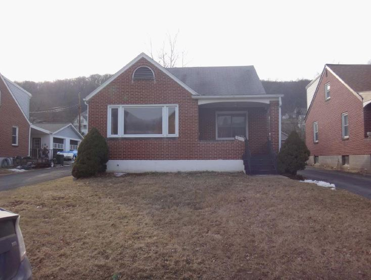 Allegany County foreclosures – 12403 Bowling St, Cumberland, MD 21502