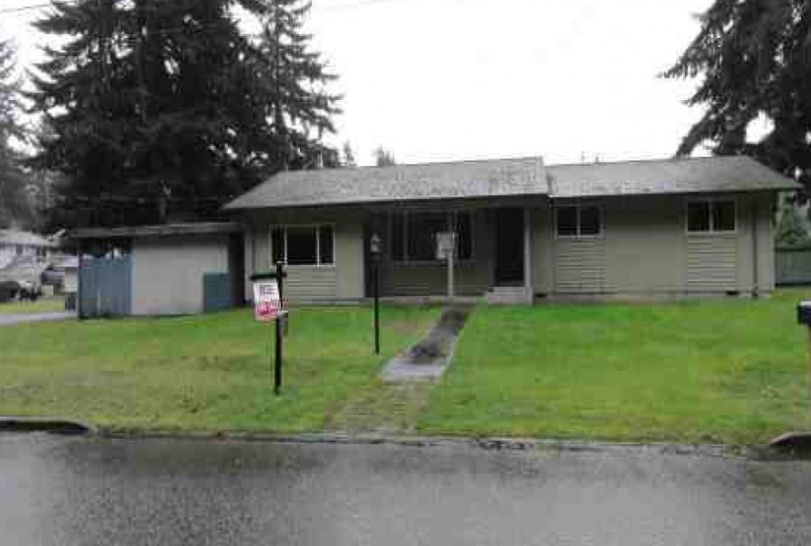 Clallam County foreclosures – 1717 S F St, Port Angeles, WA 98363