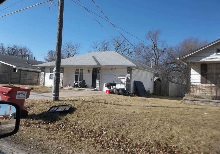 Greene County foreclosures – 1447 N Clifton Ave, Springfield, MO 65802