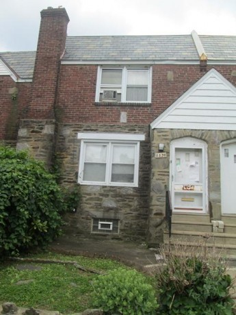 Upper Darby foreclosures – 6834 Clover Ln, Upper Darby, PA 19082