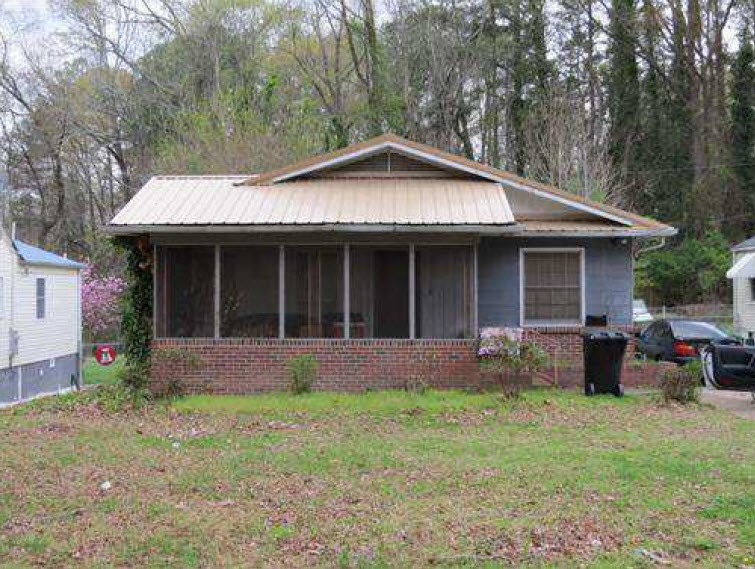 Etowah County foreclosures – 1221 Jupiter St, Gadsden, AL 35901