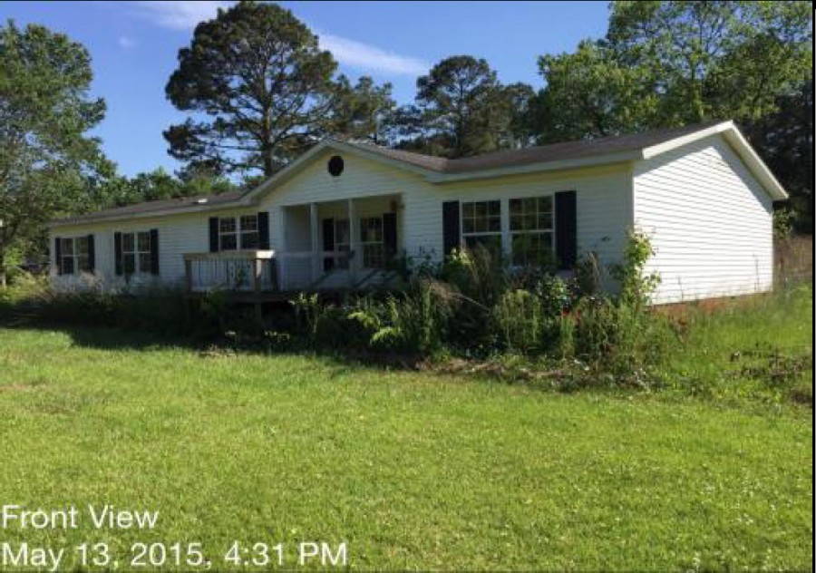 Onslow County foreclosures – 130 Wilson Cir, Richlands, NC 28574