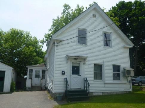 Fairfield foreclosures – 13 Pleasant St, Fairfield, ME 04937